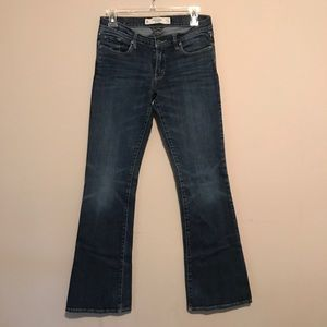 Abercrombie & Fitch Dark Wash Bootcut Jeans